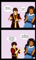 Zutara Week : Jealousy by trishna87