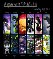 Summary Art 2013 by SMASH-ii