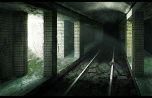 Abandoned Subway by Bone-Fish14