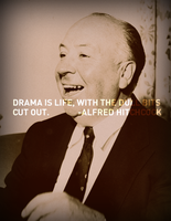 Alfred Hitchcock - Drama by chrisbrown55
