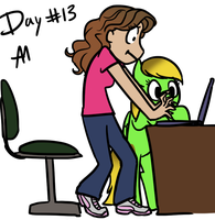 30 day challenge-day 13 by Bananers97