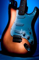 Lighting Guitar by BWozniakPhotography