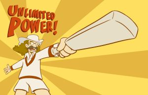Unlimited Power by mapacheanepicstory