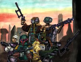 Bounty Hunters by Dracowhip