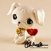 Krypto the Super Dog custom LPS by thatg33kgirl