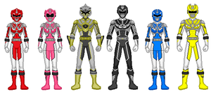 Power Ranger Full Throttle 2.0 by heavenlymythicranger