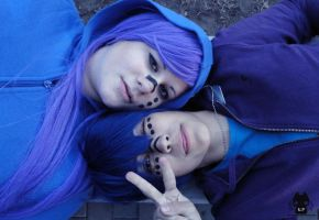 Smile - Gakupo and Kaito CP by Hikuja