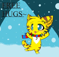 Free hugs by Animerocksthebest