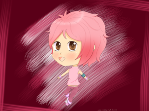 Pink chibi! [AT with --- ] by Pelusita-Fideos