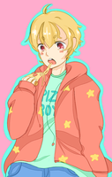 nagisa the pizza boy by yokodera