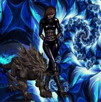 Underworld Claire And Pet by EpitaphOfTwilightCe