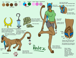 Redex Reference Sheet by Kutanra