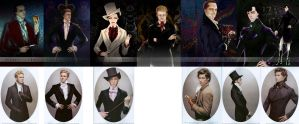 BBCsherlock in 1800 by WuLiao-Yuzi