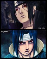 Collab itachi sasuke by Lord-Nadjib