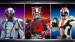 Kamen Rider Drive, Mach and Chaser by Yaiba1