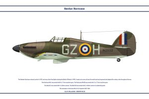 Hurricane GB 32 Sqn by WS-Clave
