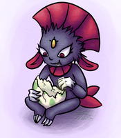 Weavile by K8extreme