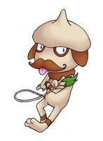 Smeargle by flying-bagel