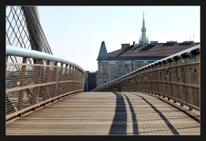 Bridge For Lovers and... Cyclists by skarzynscy