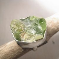 Spring green hill ring by Jealousydesign