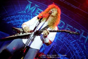 Megadeth 4 - Dave Mustaine by RodriguezVillegas