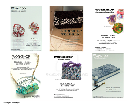 Flyers for Workshops by sompy