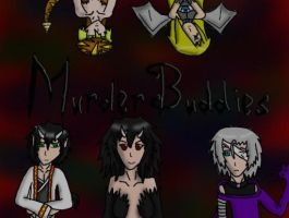 Murder Buddies Request: Time-Fate's Ocs by Carnage-Kitsune