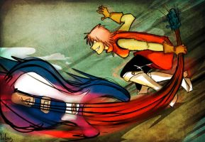FLCL by Seless