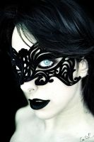 Black Widow Masquerade by Chuchy5