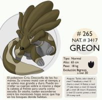 Pokemon Oryu 265 Greon by shinyscyther