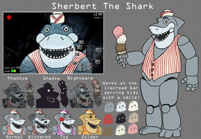 Sherbert the Shark by Ziratoni