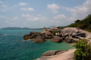 Koh Samui coast III by DeviantTeddine