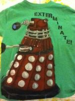 Dalek Shirt by MemiMcfly