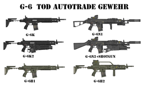 G-6 Tod Automatic Rifle by Milosh--Andrich