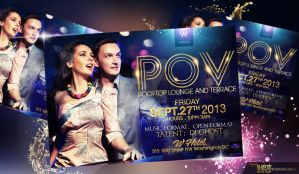 POV Party Flyer by Gallistero
