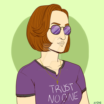 Dana Scully Made Me Gay by cowuhbungadude