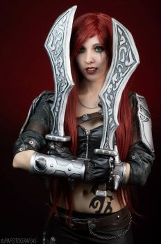 Katarina - League of Legends V by FlorBcosplay