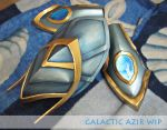 Galactic Azir is coming :D by Daraya-crafts