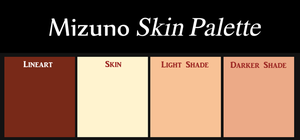 Mizuno Skin Palette by Faeth-design