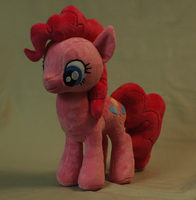 My Little Pony Pinkie Pie Plushie by WhiteHeather
