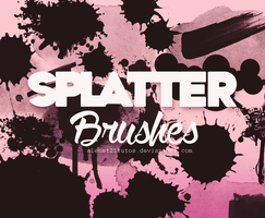 Splatter Brushes {Alenet21tutos} by alenet21tutos