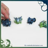 Tiny Cute Octopus Gauges 2 by lily-inabottle