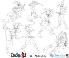Ki Actions by LPDisney