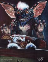 AFTER MIDNIGHT! - Gremlins by The-Art-of-Ravenwolf