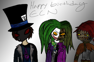 Happy Birthday ECN by Art-is-a-BANGXD