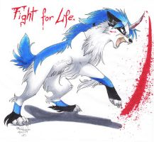 Fight for Life by Rabbiata