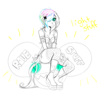 Rainbow Rave-a-corn WIP by Fancy-Tramp