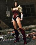 Wonder Woman (Iray) by Le-Arc-7thHeaven