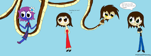 Swinging on a Snake [Request] by MistressOfMemory