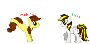 My BFFL's (Ponified) by SketchyCharmander